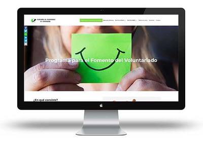 Web Fomento del Voluntariado