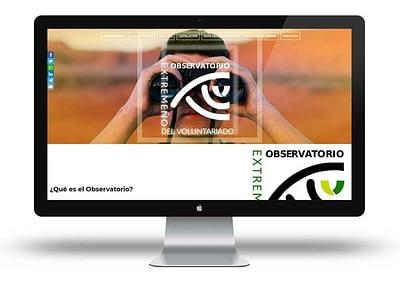 Web Observatorio Extremeño del Voluntariado