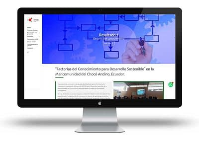 Web Factoria del Conocimiento Ecuador