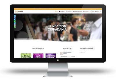 Web de la Fundación Ciudadanía