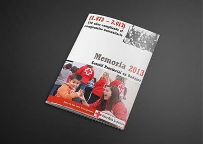 Memoria anual 2013 de Organización Provincial.