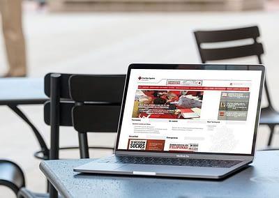 Web de Cruz Roja Española en Extremadura