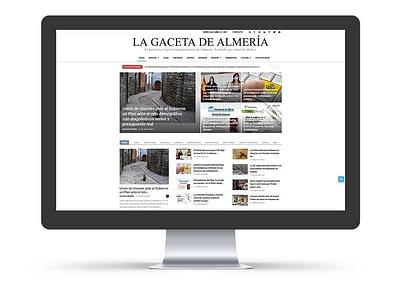 Web La Gaceta de Almería