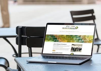 Web Diálogos de Ciudadanía