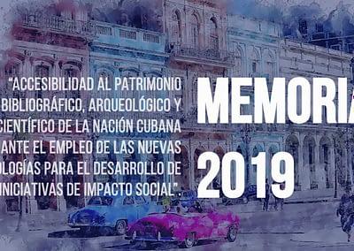 Videomemoria Extremadura con Cuba 2019