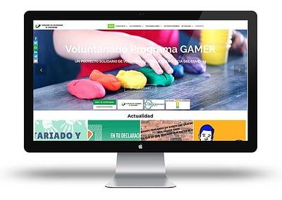 Web de la Plataforma del Voluntariado de Extremadura